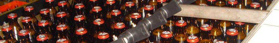 Flaschenaufreihung